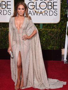 JLO 2015 Golden Globe Awards