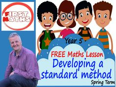 YouTube Developing a standard method  Maths Lesson - FREE Year 5- Spring Term