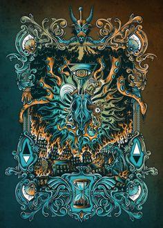 Babylon by Mike Friedrich, via Behance