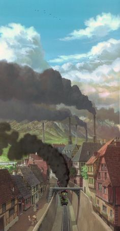 Howl's Moving Castle - Opening