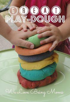 10 Homemade Play-dough Recipes