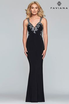 658a667681 Faviana Glamour S7999 Chic Boutique  Largest Selection of Prom