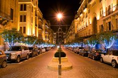 LEBANON, BEIRUT AT CHRISTMAS TIME, VERY NICE