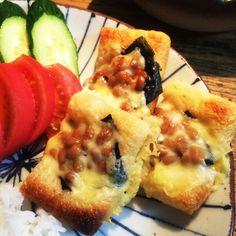 油揚げの納豆チーズ焼き by ちーた3987 [クックパッド] 簡単おいしいみんなのレシピが219万品