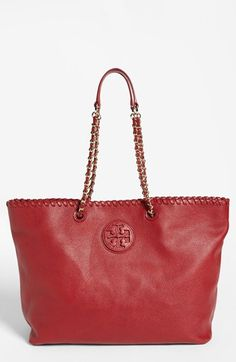 Got It, Birthdays are good to me :)   Tory Burch 'Marion' Tote available at #Nordstrom in black.