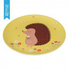 Melamine Plate Honey The Hedgehog