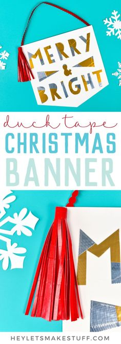 Make your own Homemade Happy Holidays Banner Felt Craft Kit