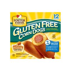 Smith's Food and Drug - Foster Farms Gluten Free Corn Dogs, oz Chicken Wrap Recipes, Lettuce Wrap Recipes, Aero Chocolate, Foster Farms, Turkey Burger Recipes, Summer Rolls, Snack Recipes, Snacks