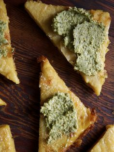 AUTHENTIC ITALIAN CHICKPEA FLAT BREAD: (2.5) cups chick-pea flour (also called gram or garbanzo flour) (3.5) cups fresh cold water (1 tsp) salt & black pepper, or to taste (1/4) cup extra virgin o