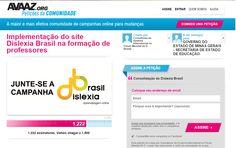 Diário: mãe de autista: Implementação do site Dislexia Brasil na formação ...