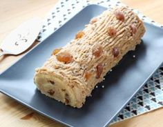 Recipe - Log with chestnut cream step by step - Rice Recipes Food Cakes, Köstliche Desserts, Delicious Desserts, Best Rice Recipe, Pizza Lover, Food Log, Xmas Food, Afternoon Snacks, Sweet Cakes