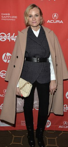 Sundance is here and so is the cozy star-style inspiration, including Diane Kruger's layered look!