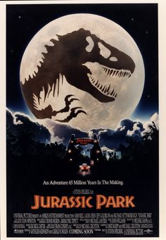 The Man Behind the Most Iconic Movie Posters of the '80s and '90s | Alvin's poster for Jurassic Park.  John Alvin/Universal  | WIRED.com