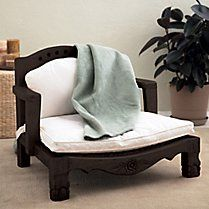 Green Living Products & Natural Home Decor - Gaiam..meditation chairs made from sustainable wood..these so rock!