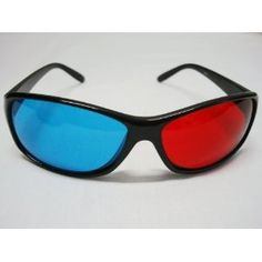 b65ad3eff8f Red-blue   Cyan Anaglyph Simple style 3D Glasses 3D movie game-Extra Upgrade