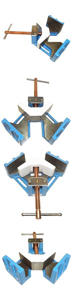 Clamps and Vises 20761: 4 Welder Welding Angle Corner Clamp Swivel Vise -> BUY IT NOW ONLY: $69.99 on eBay!