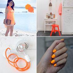 Orange details.