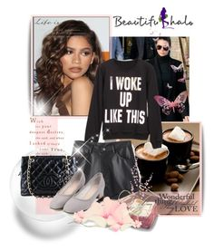 """Bhalo ''4/III"" by albinnaflower ❤ liked on Polyvore featuring Coleman, Chanel, Pier 1 Imports and beautifulhalo"