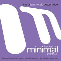 The Best in Minimal Update 7.0 - Various Artists (ZYX) EAN: 0090204636945
