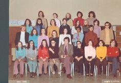 Photo de classe 1ère D de 1973, Lycée Eugène Delacroix