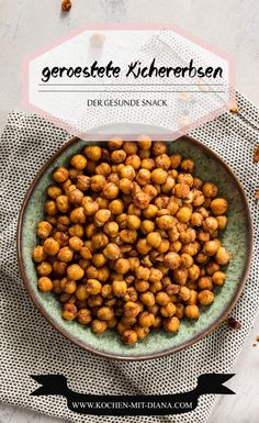 Healthy snacks: Roasted chickpea snacks can also be healthy and delicious . - Healthy snacks: Roasted chickpea snacks can also be healthy and delicious. These roasted chickpeas - Roasted Chickpeas Snack, Chickpea Snacks, Healthy Snacks, Healthy Recipes, Seafood Recipes, Gourmet Recipes, Dog Food Recipes, Snack Recipes, Clean Eating Snacks