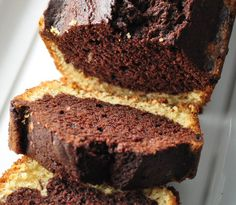 Bizcocho marmolado de chocolate - Pecados de Reposteria
