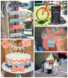 Vintage Gender Neutral Baby Shower