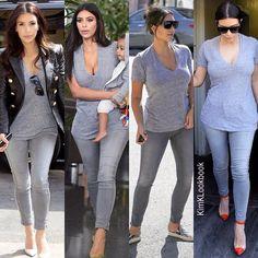 Kim Kardashian West @kimklookbook | Websta (Webstagram)