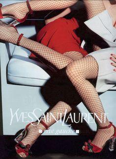 Yves Saint Laurent Fall 2003  Adina Fohlin, Julia Stegner by Craig McDean