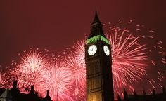 New Years Eve Fireworks London