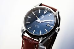 Omega Aqua Terra in Blue | Ref. 2803.80, Calibre 2500B with … | Flickr