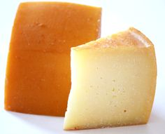 Idiazabal cheese. A firm Spanish cheese that is smoky, nutty, rich, delicious--one of my very favorites.