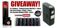 Enter to win over $757 dollars worth of Vape Gear at http://VapingCheap.com! Sponsored by: Vape Craft Inc.