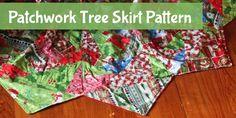 Patchwork Tree Skirt Pattern