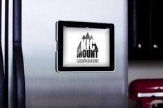 The KICMount is a magnetic iPad case that could come in handy to securely attach an iPad to the desk of your metal music stand.  (Check first that magnets actually stick to your stand!)
