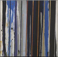 """PASQUAL GOMES """"Assuan 4"""" Técnica mixta (pintura acrílica y arena sobre madera) 50x50cm"""