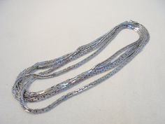 Vintage Flapper Necklace 56 Long 59 Grams STUNNING by KathiJanes