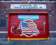 FDNY Firehouse Engine 89 & Ladder 50, Throgs Neck, Bronx, New York City