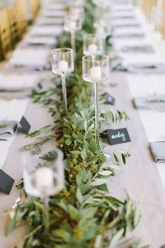 Greenery Goals - 25 DIYs To Spruce Up Your Thanksgiving Table - Photos