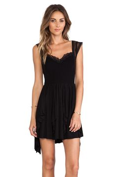 cute little black dress REVOLVEclothing