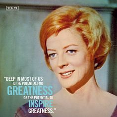 Greatness to be made. The Prime of Miss Jean Brodie Vintage Movie Stars, Vintage Movies, Hooray For Hollywood, Old Hollywood, Ethel Waters, Hattie Mcdaniel, Enjoy Quotes, She Walks In Beauty, Turner Classic Movies