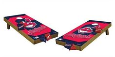 Wild Sports MLB Cleveland Indians Wild Sports Tailgate Toss Cornhole