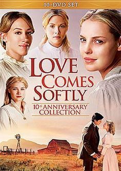 Love Comes Softly Complete Set - 10 DVD Collection - DVD   Enjoy Janette Oke's saga of the Davis family as they find love and build strong families on the American Prairies.   Available at ChristianCinema.com