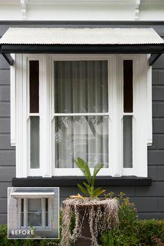 Cottage Exterior, House Paint Exterior, Exterior House Colors, Exterior Design, Brunswick House, Paint Colors For Home, Paint Colours, Weatherboard House, Outdoor Paint