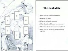 The soul mate - will be doing this spread later