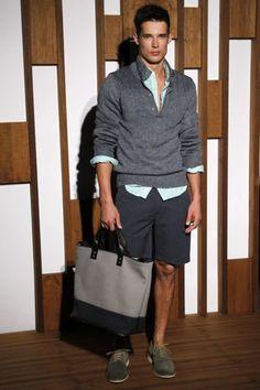 Banana Republic Spring/Summer 2012. It's ok to carry a bag.