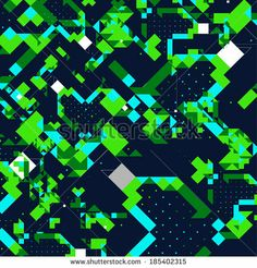 awesome pattern #pattern #art #vector #design #abstract #green #square #particle #imagination #graphic #popular