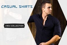 Buy Smart & Comfortable Casual Shirts for Urban Men.. >> http://hytrend.com/men/clothing/casual-shirts.html