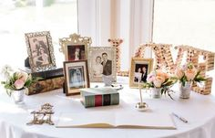 A guestbook and sign-in table is a necessary part of any wedding décor, and it is usually one of the details your guests will see first! It is important to make this spot easy to find, while blending seamlessly into y...