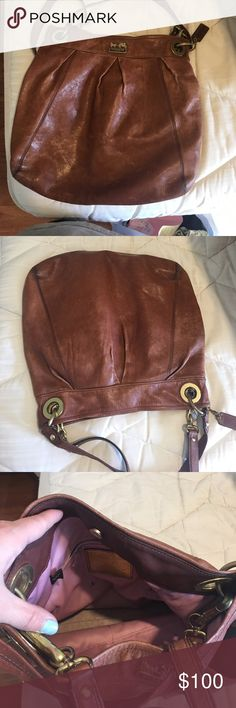 Coach purse Used coach purse; still in good shape Coach Bags Shoulder Bags